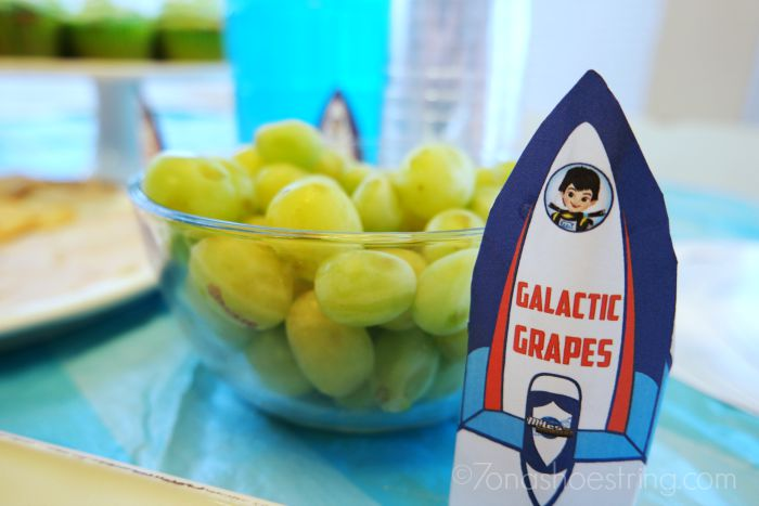 Disney Junior Miles from Tomorrowland party