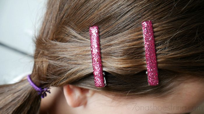 Goody hair accessories - barrettes and elastics