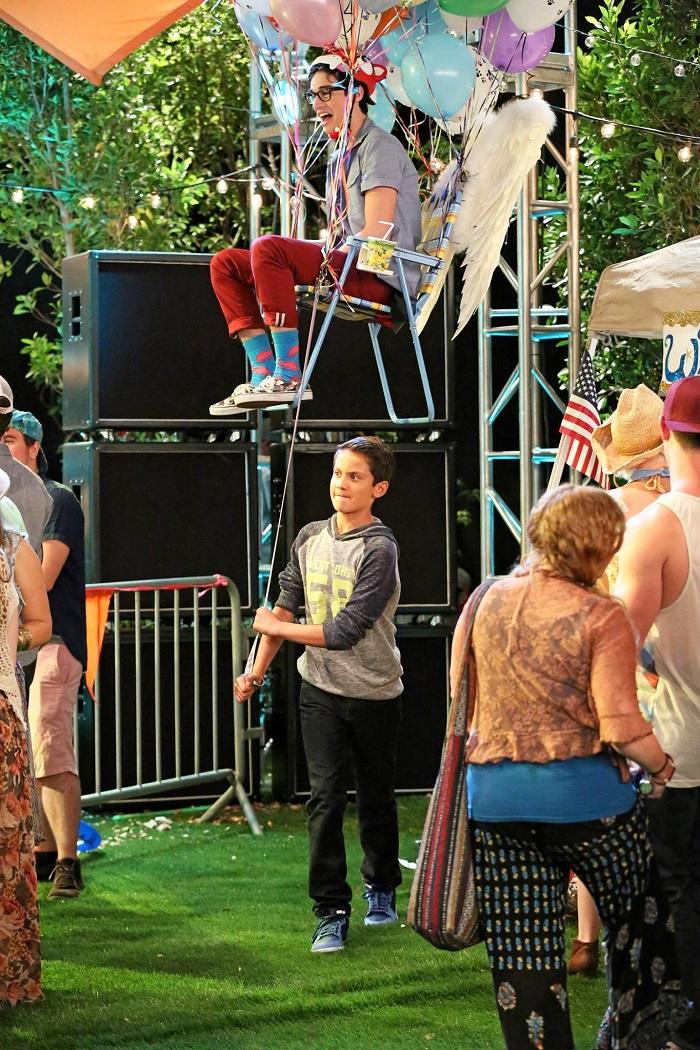 Joey Bragg and Tenzing Norgay Trainor on Liv & Maddie