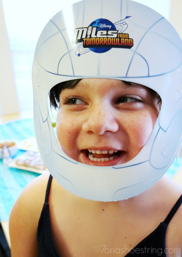 Miles from Tomorrowland Space Missions space helmet