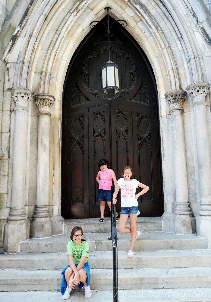 Philadelphia church - road trip