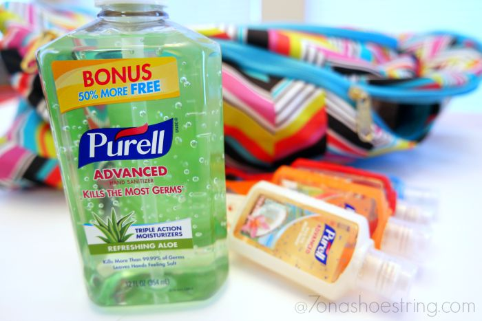 Purell backpack essentials