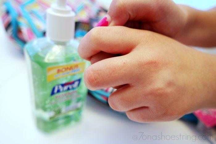 Purell Sanitizer 30-day challenge