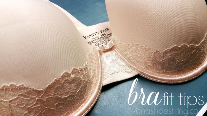 Evaluate Your Intimates Inventory with Vanity Fair Bra Fit Tips