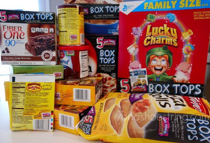 Walmart Box Tops products