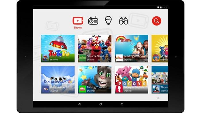 how to set parental controls on youtube ipad app