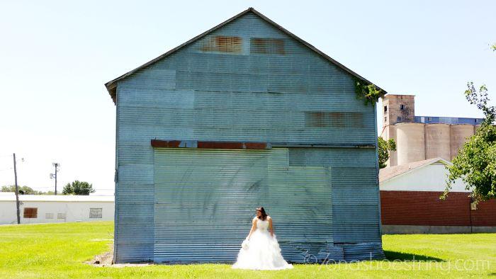 daughter bridal shoot in Texas
