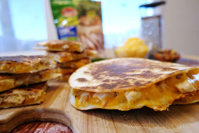 Simple Weeknight Meal – Easy Chicken Quesadillas Recipe