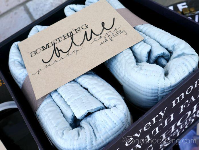 something blue wedding gift