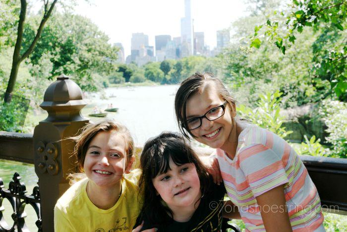 stroll through Central Park NYC