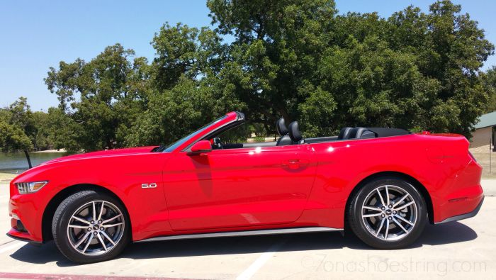 Living a Dream in 2015 Ford Mustang GT Premium Convertible