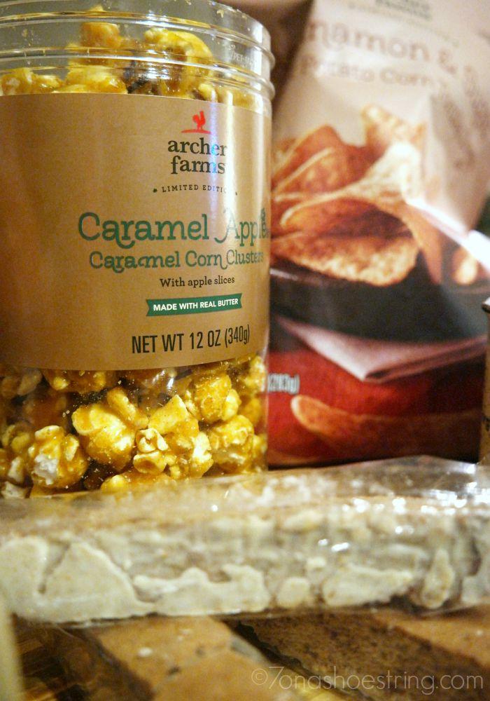 Archer Farms caramel apple popcorn
