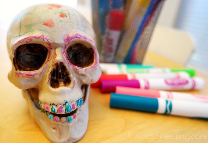 Dia de los Muertos craft for kids