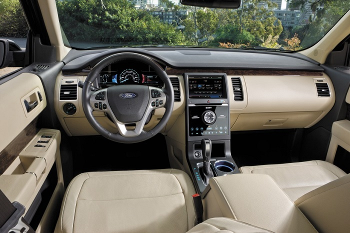 Ford Flex interior dash