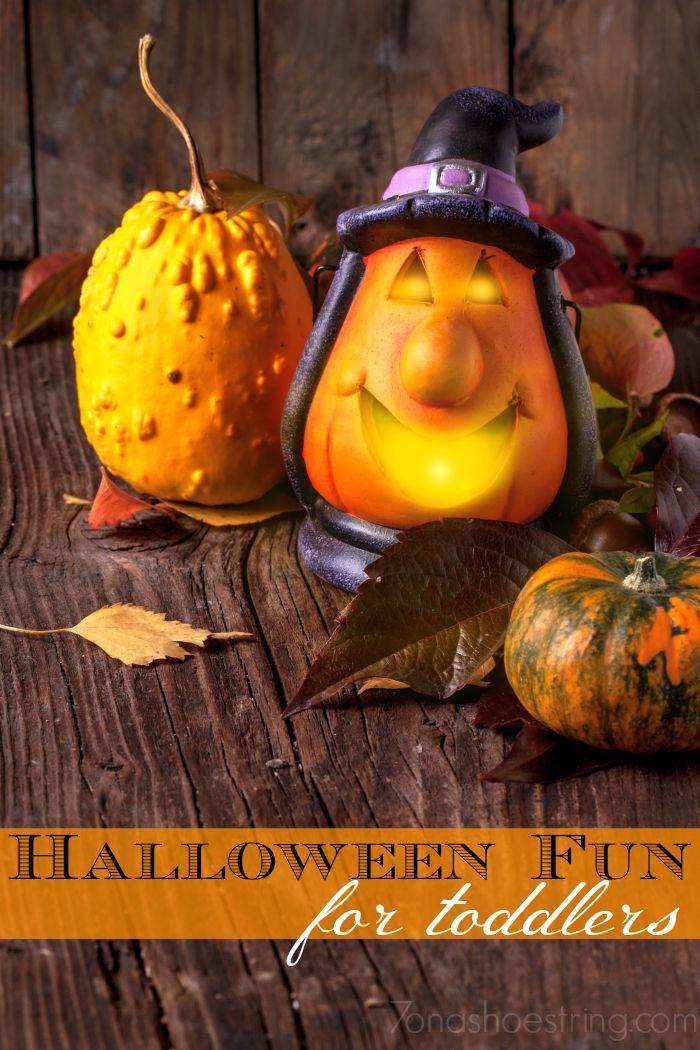 Halloween fun for toddlers