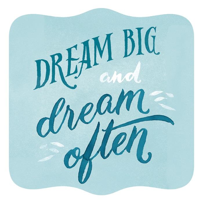 Vanity Fair - dream big and dream often