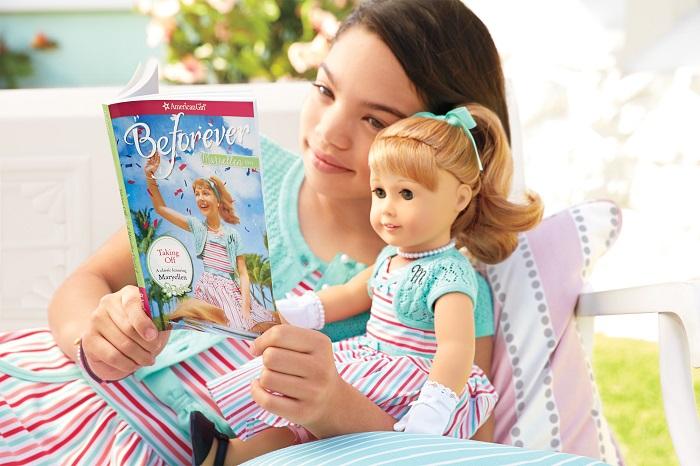American Girl Maryellen Larkin Doll and Book