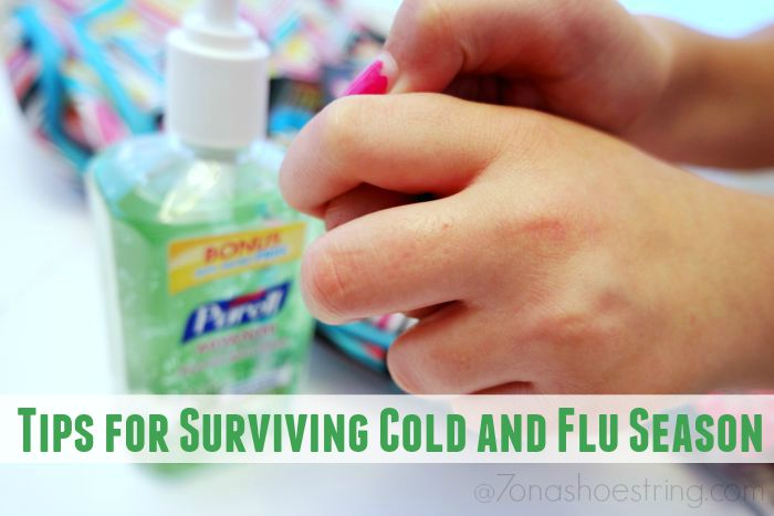 5 Tips for Surviving Cold and Flu Season