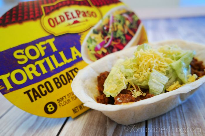 Dinner Takes Less Time Leaving More Time for Family with Old El Paso