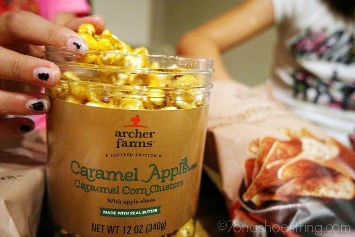 fall food and snacks for movie night