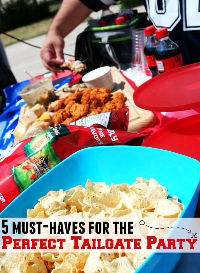 5 Must-Haves for the Perfect Tailgate