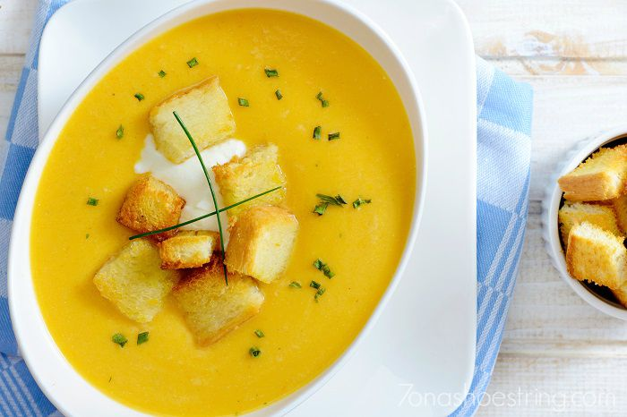 easy pumpkin soup recipe