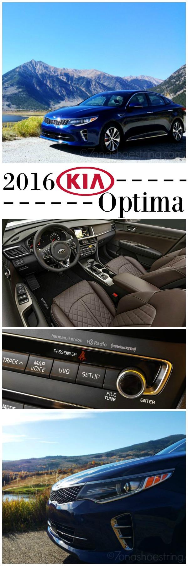 2016 Kia Optima exterior and interior pictures