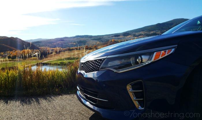 2016 Kia Optima front fascia - grille