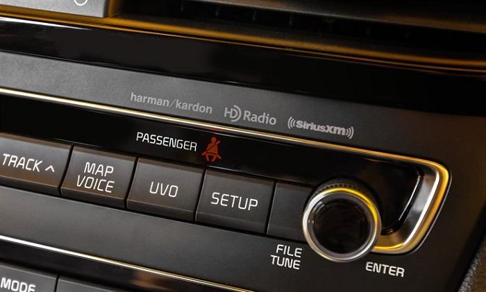 2016 Optima Harman Kardon premium sound system