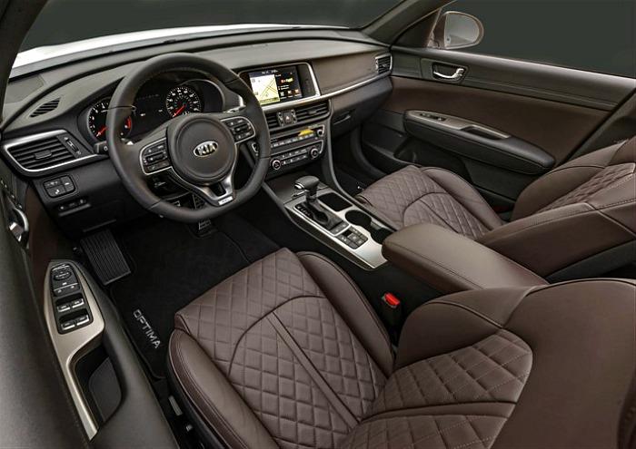 2016 Kia Optima SXL interior