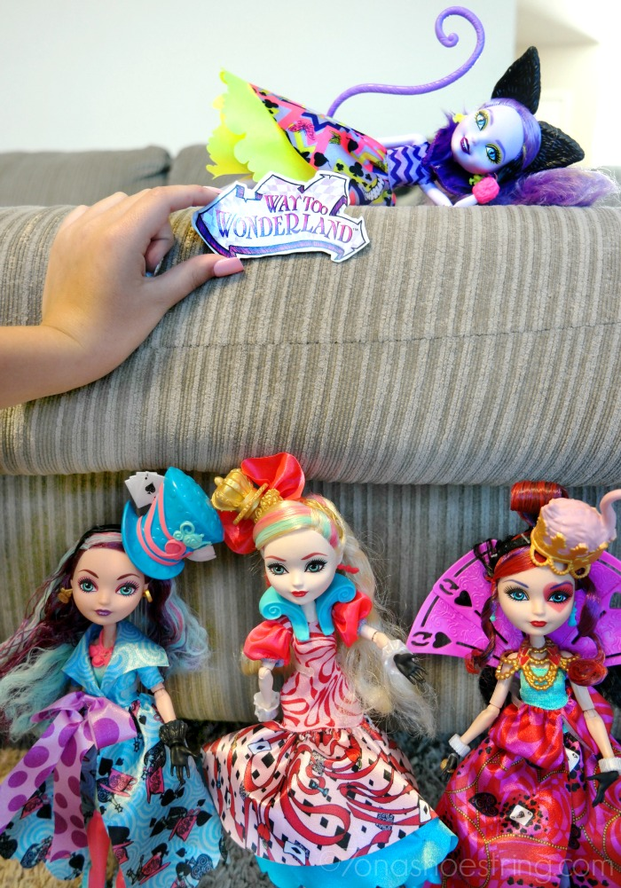 Ever After High Way Too Wonderland dolls from Mattel
