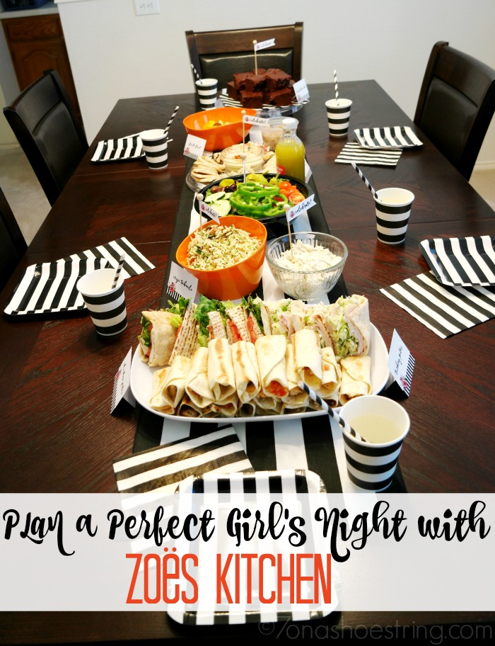 Plan A Perfect Girls Night With Zo 235 S Kitchen Catering