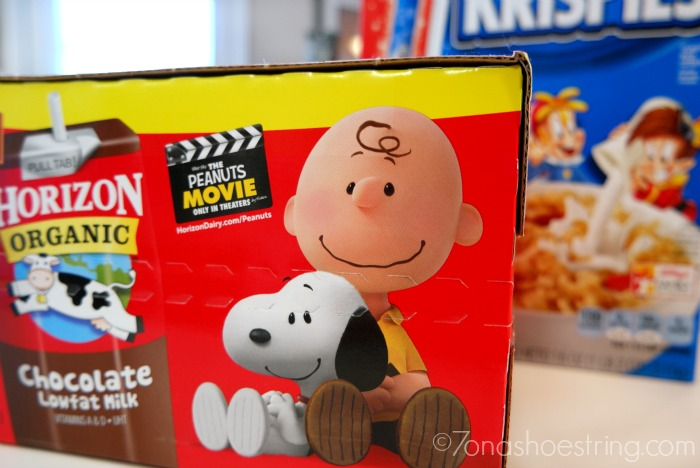 The Peanuts Movie Horizon Organic