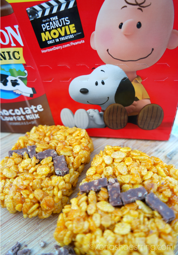 The Peanuts Movie Rice Krispie Treats