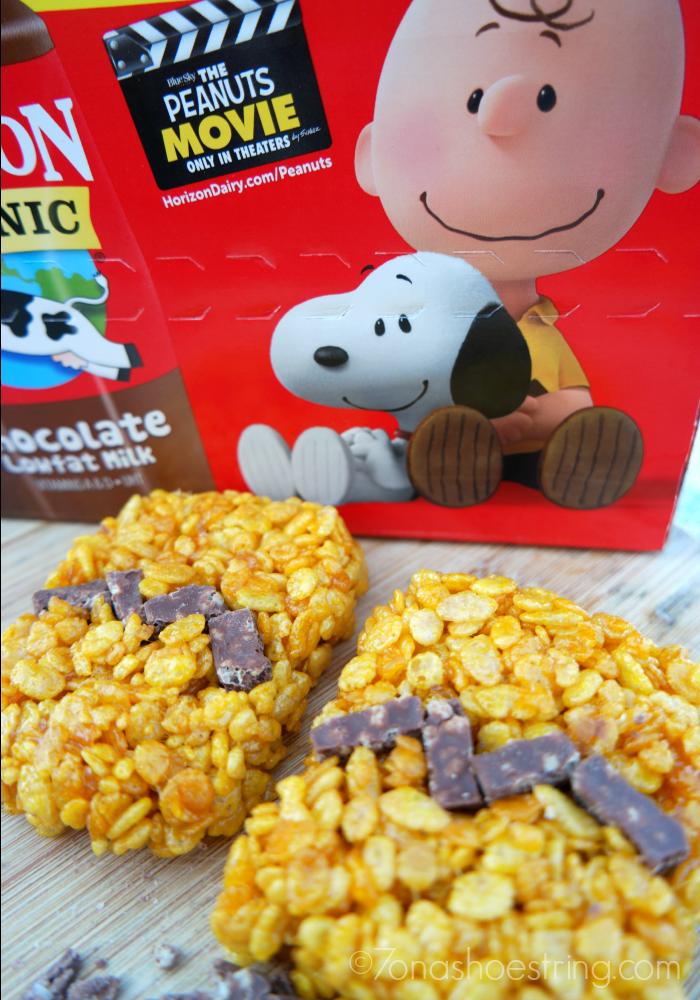 The Peanuts Movie Rice Krispie Treats