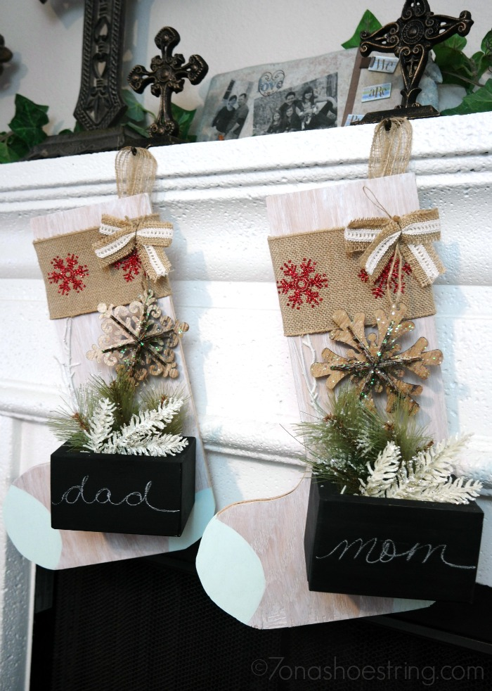 Wooden Stocking 65