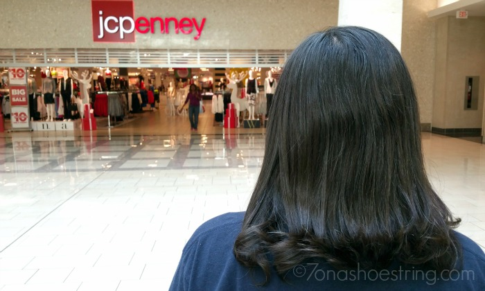 The Salon by InStyle inside JCPenney #InStyleatJCP #ad