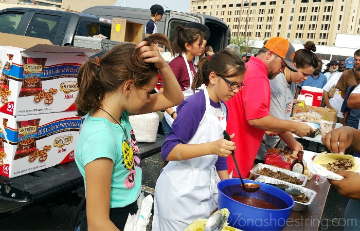 serving the homeless bbq brisket