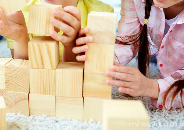 Stock Up on open-ended toys like Barbie and blocks