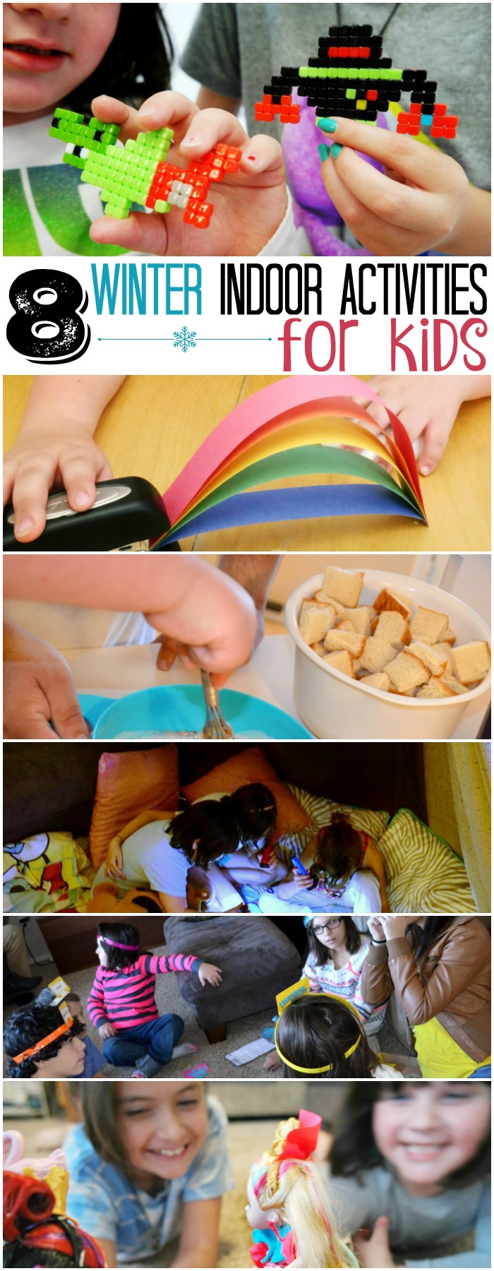 8 Winter Indoor Activities For Kids