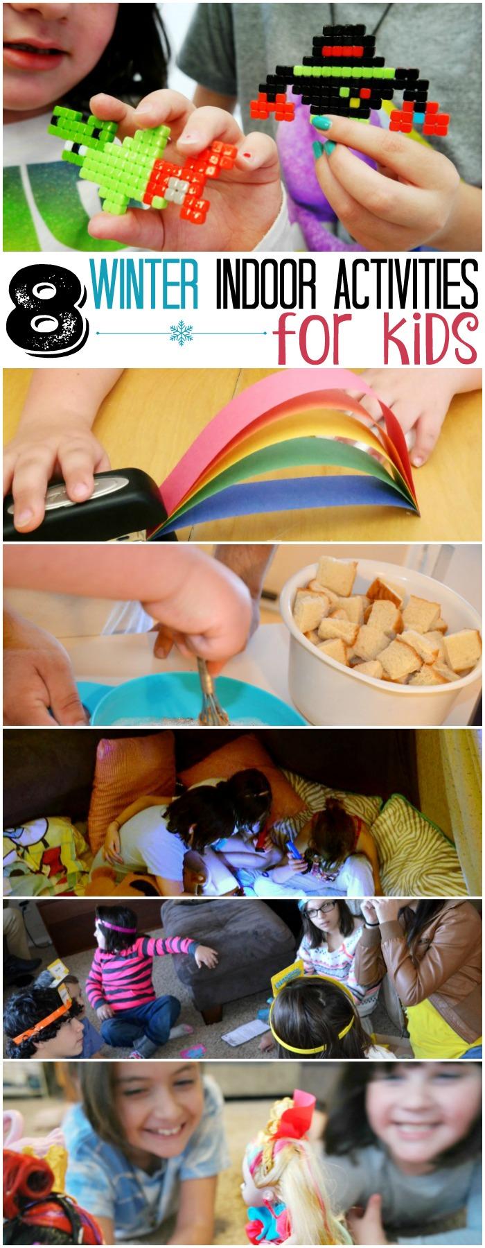 8 Winter Indoor Activities For Kids
