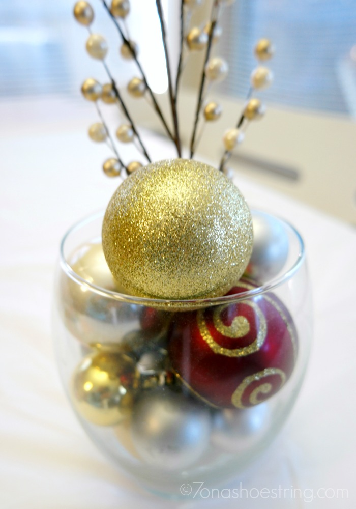Christmas ball ornaments home decor