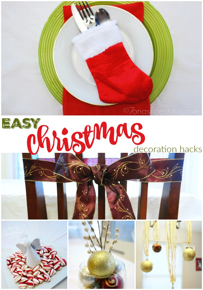 Easy Christmas Decoration Hacks