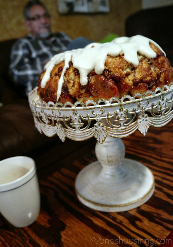 S'mores Monkey Bread recipe with marshmallows and Nutella