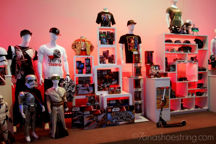 Disney products for Star Wars: The Force Awakens