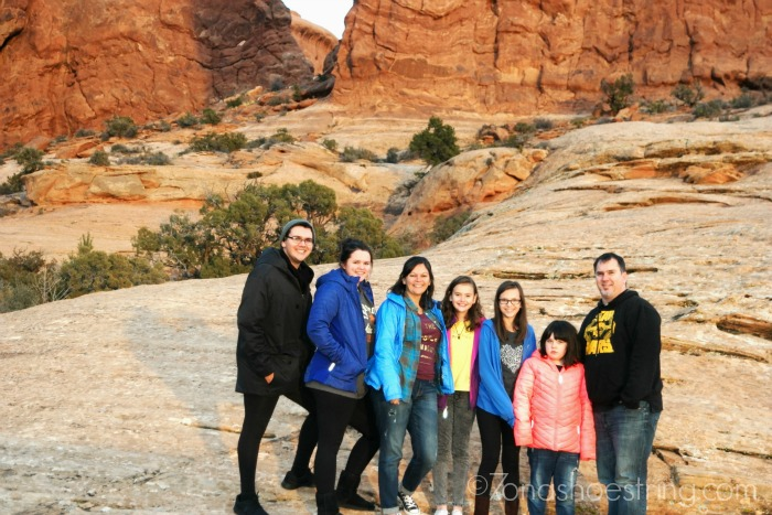 Family-at-Arches-National-Park