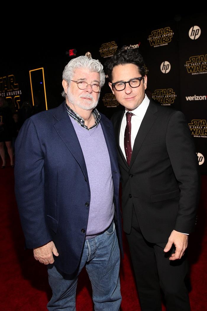 George Lucas and J.J. Abrams