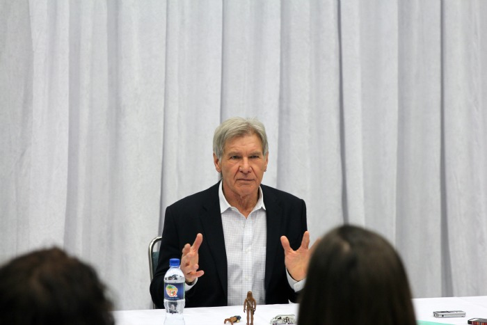Harrison Ford interview - Han Solo