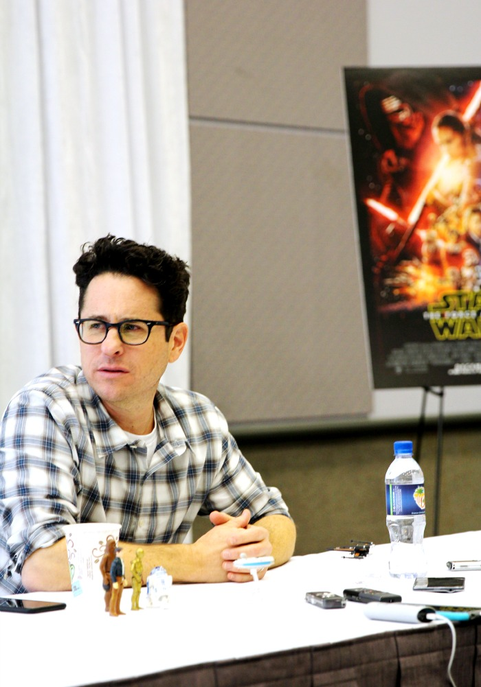 JJ Abrams - Global Press Event