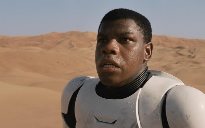 EXCLUSIVE INTERVIEW: John Boyega as Finn in Star Wars: The Force Awakens